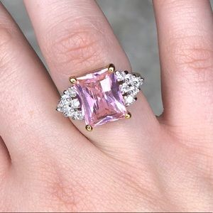 Pink Jeweled Ring